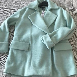 Topshop new with tags teal winter coat